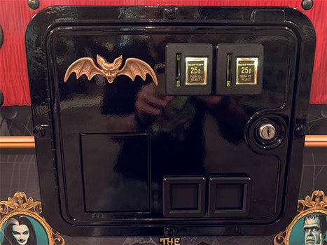 Gold Bat for Coin Door