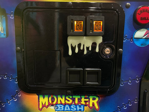 Glow in the Dark Dripping Monster Slime for coin door
