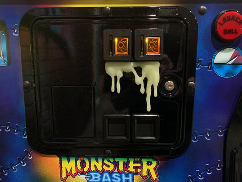 Glow in the Dark Long Dripping Monster Slime for coin door