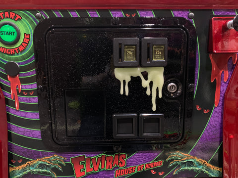 Glow in the Dark Long Dripping Slime for coin door