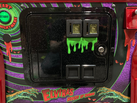 Green Dripping Slime for coin door