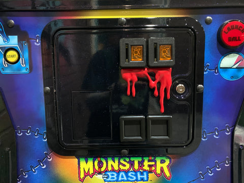Long Dripping Monster Blood for coin door