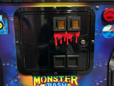 Dripping Monster Blood for coin door