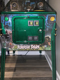 Jurassic Park LE Green Coin Door Powder Coating Service