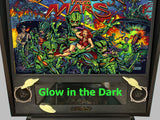 Glow in the Dark Attack from Mars Spaceship Speaker Panel Mod