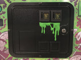 Long Green Dripping Slime for Coin Door