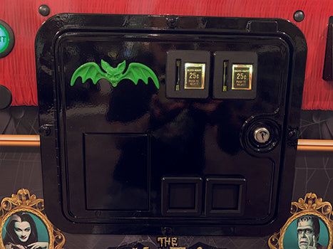 Green Bat for Coin Door