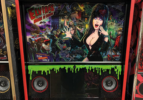 Green Dripping Slime for Elvira Speaker Panel