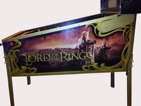 Lord of the Rings Gold Powder Coating Service