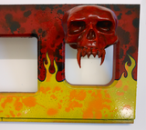 Red Metallica MOP Version Speaker Panel