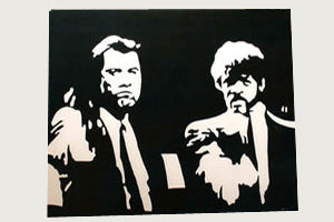 Pulp Fiction 22 x 28