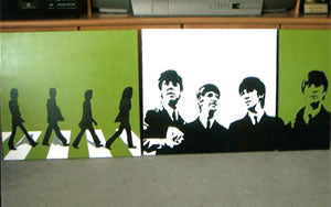 The Beatles 24 x 60