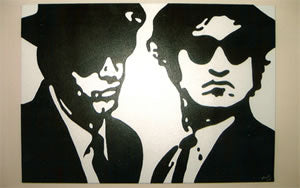 Blues Brothers 22 x 28