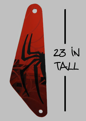 Spider-Man Wall Art 1 piece red