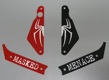 Red and Black Combo 4-pc Spider-Man Plastic Set