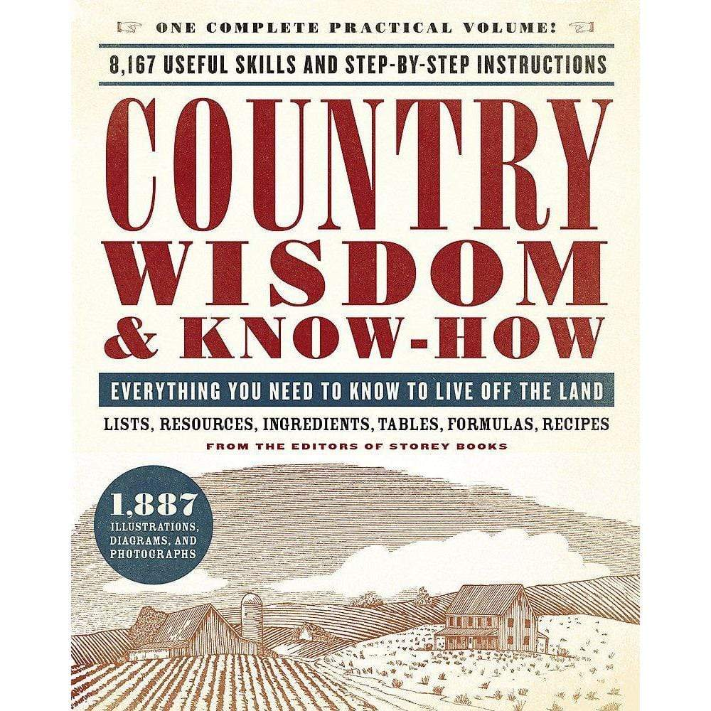 Hachette Books COUNTRY WISDOM & KNOW-HOW by Storey Publishing