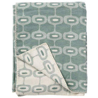 Klippan Home Decor Emerald Doris, Organic Brushed Cotton Blanket