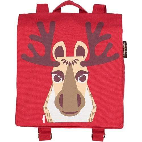 Coq en Pate kids accessories Caribou Organic Cotton Backpack