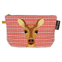 Coq en Pate kids accessories Deer COQ EN PATE Zippered Pouch