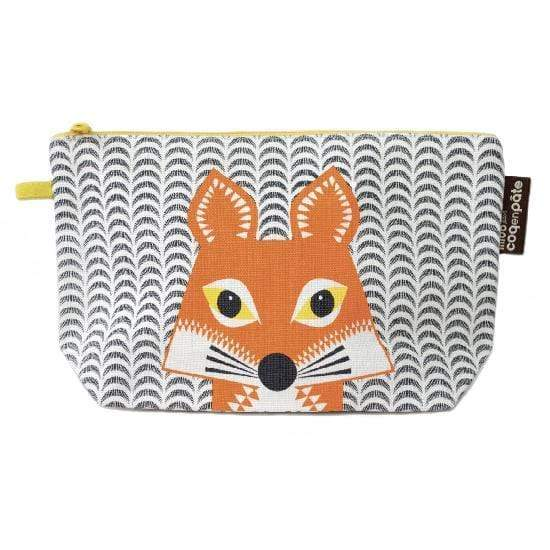 Coq en Pate kids accessories Fox COQ EN PATE Zippered Pouch