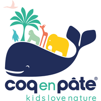 Coq en Pate kids accessories Organic Cotton Backpack