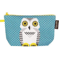 Coq en Pate kids accessories Owl COQ EN PATE Zippered Pouch