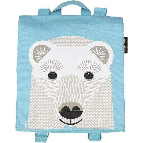 Coq en Pate kids accessories Polar Bear Organic Cotton Backpack