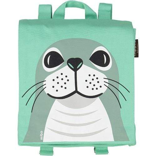 Coq en Pate kids accessories Seal Organic Cotton Backpack