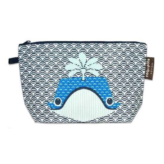 Coq en Pate kids accessories Whale COQ EN PATE Zippered Pouch