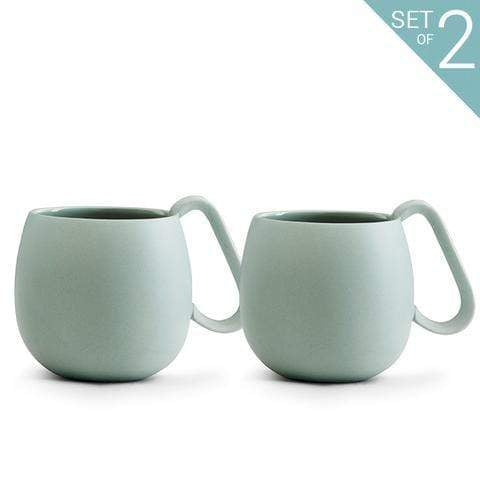 Viva Kitchen & Dining Peppermint Nina Mugs - Set of 2