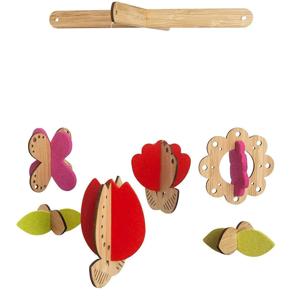 Petit Collage Toys Flower Bamboo Mobile