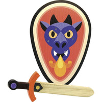 Fire the Imagination Inc Toys Shield & Sword - Dragon