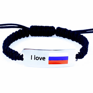Russian flag bracelet, Russia 2018, Word Cup 2018, Russian national flag
