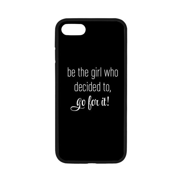 Go For It iPhone 7 Black Case