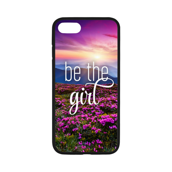 Be The Girl iPhone 7 Flowers Case