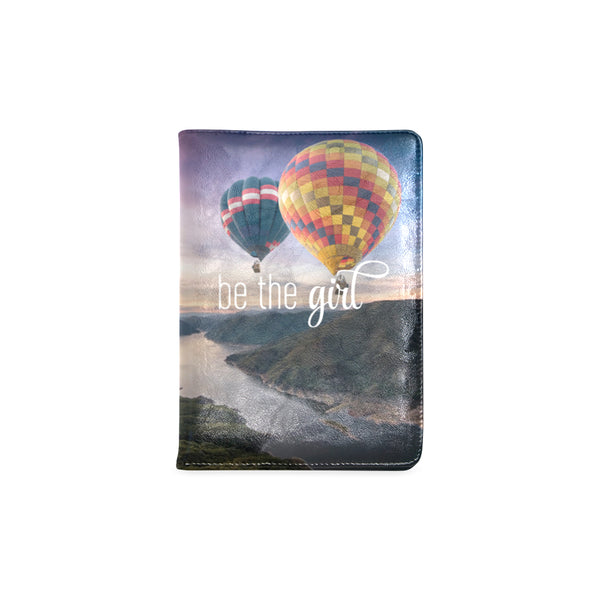 "Be The Girl Hot Air Balloon Notebook (5.5"" x 8.5"")"