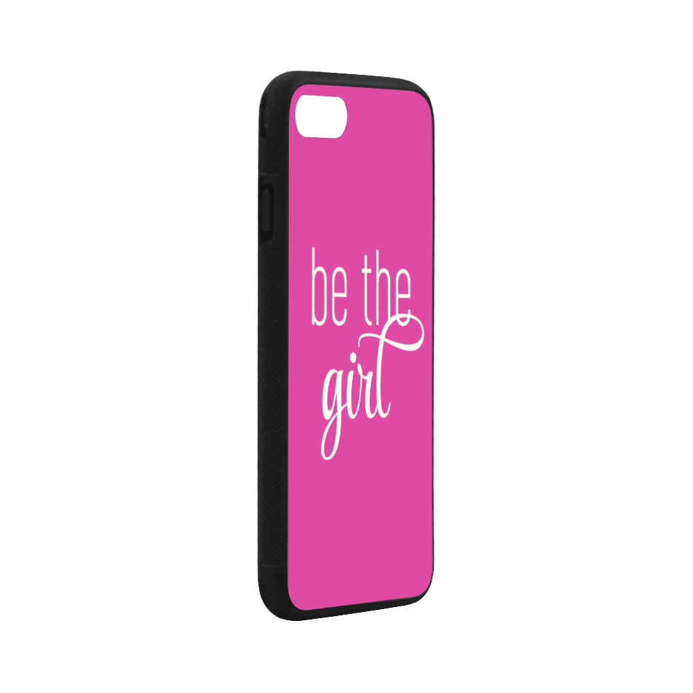 Be The Girl iPhone 7 Pink Case