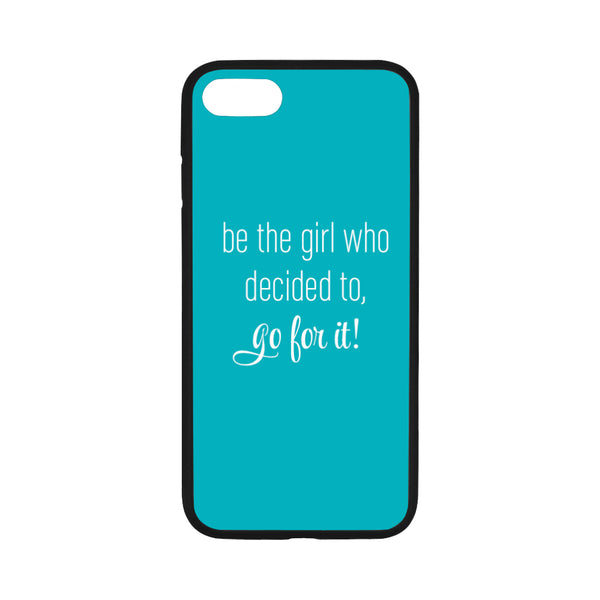 Go For It iPhone 7 Teal Case