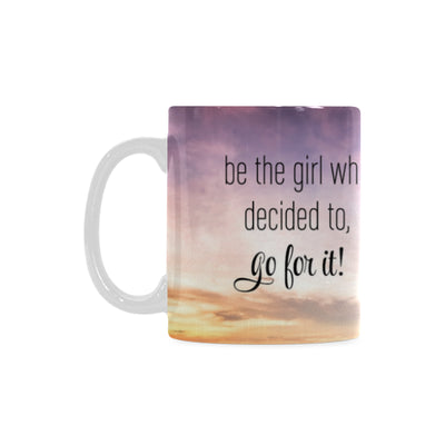 Be The Girl 11oz Hot Air Balloon Mug