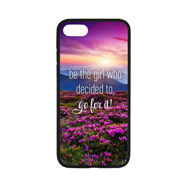 Go For It iPhone 7 Flowers Case