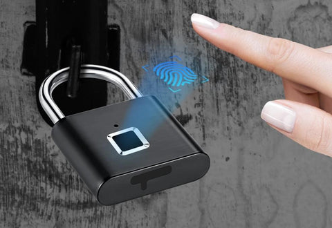 Image of Fingerprint Padlock