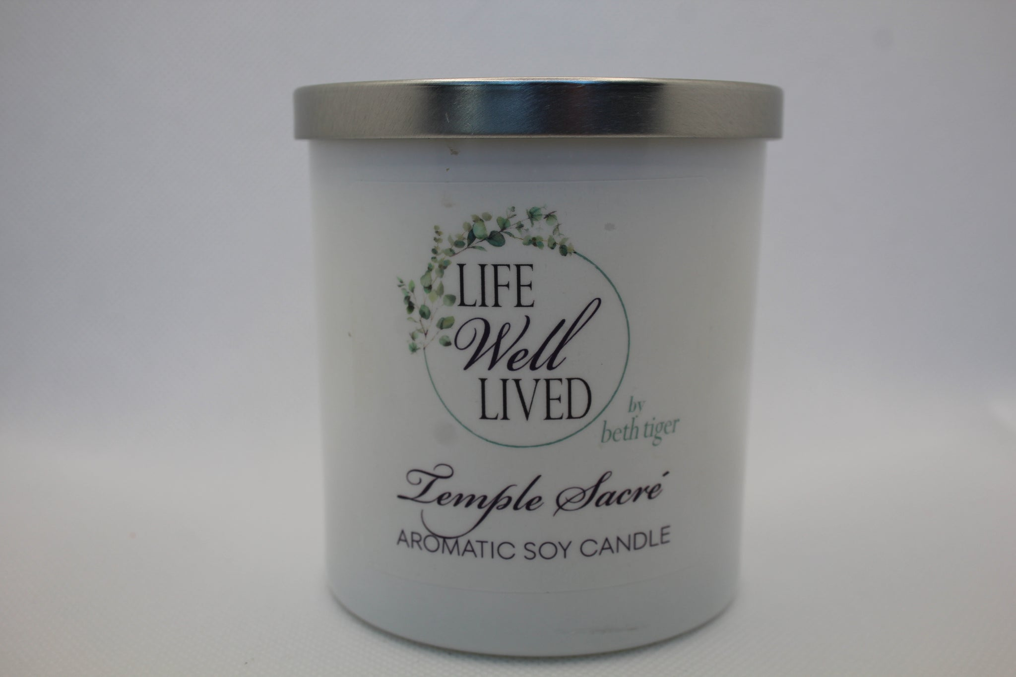 TEMPLE SACRE  8oz. Soy Candle