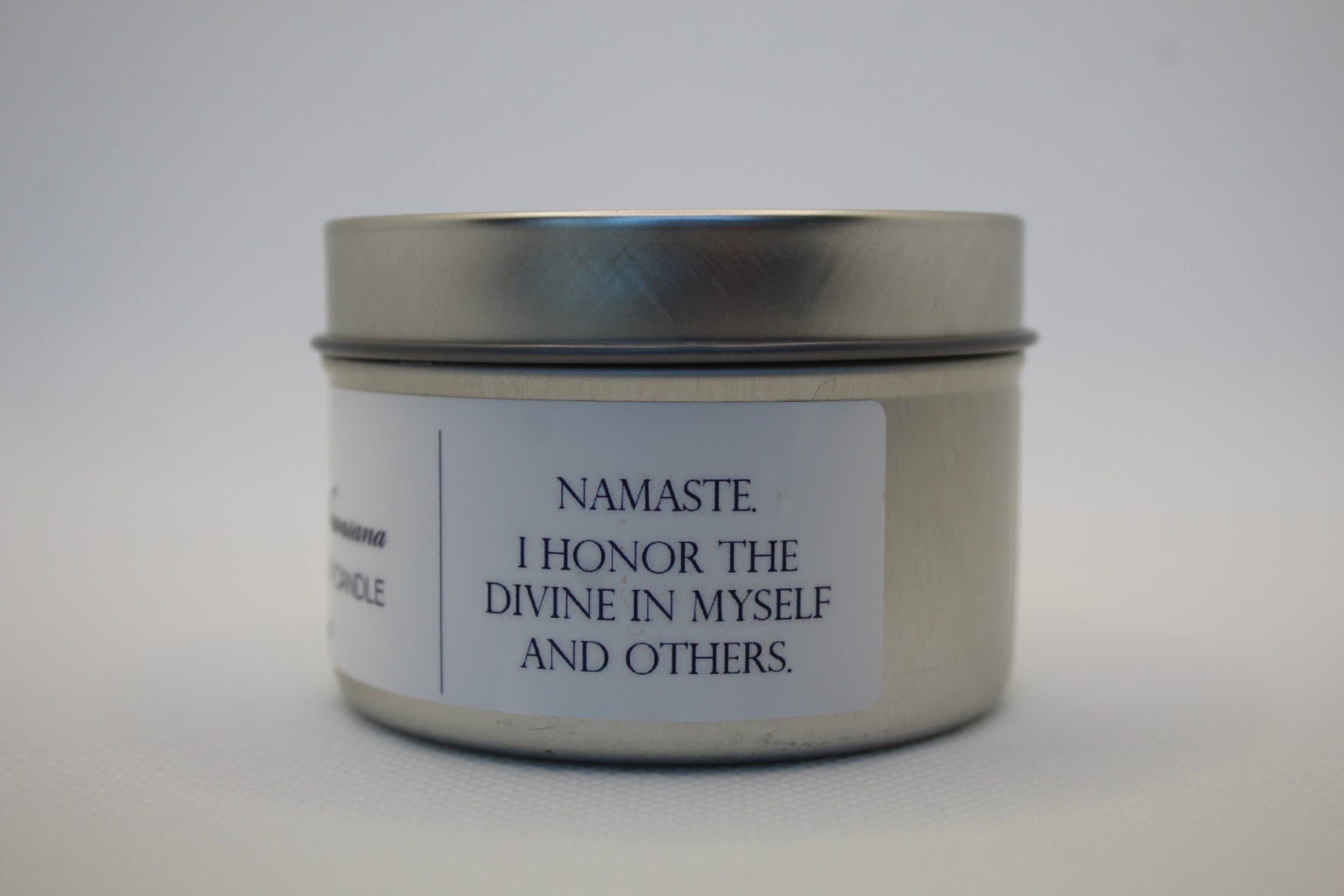 MELT INTO SHAVASANA 4oz. Soy Travel  Candle
