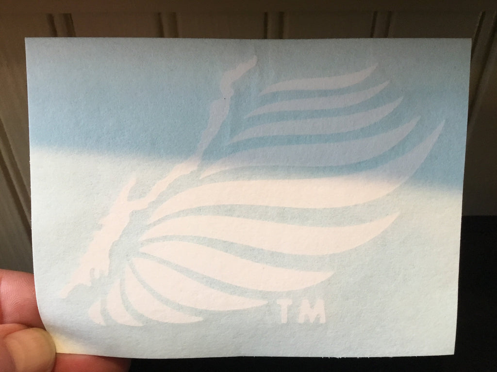 "Angel Wing Decal - Large (11x8"")"