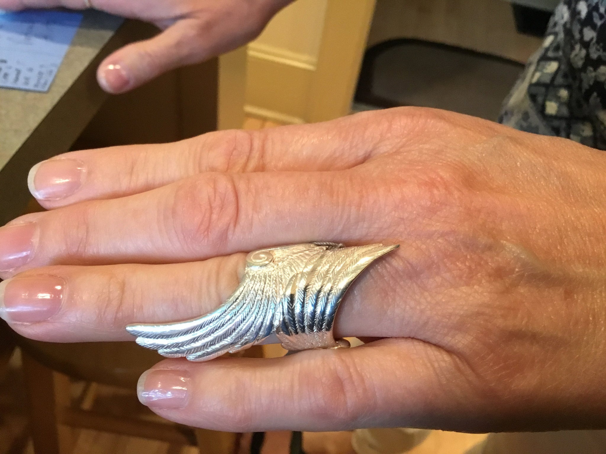 Archangel Wing ring