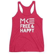 Pink Racerback Tank Top from Free & Happy Collection by MKE Outfitters