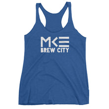 Milwaukee Brew City Blue Racerback Tank Top by MKE Outfitters