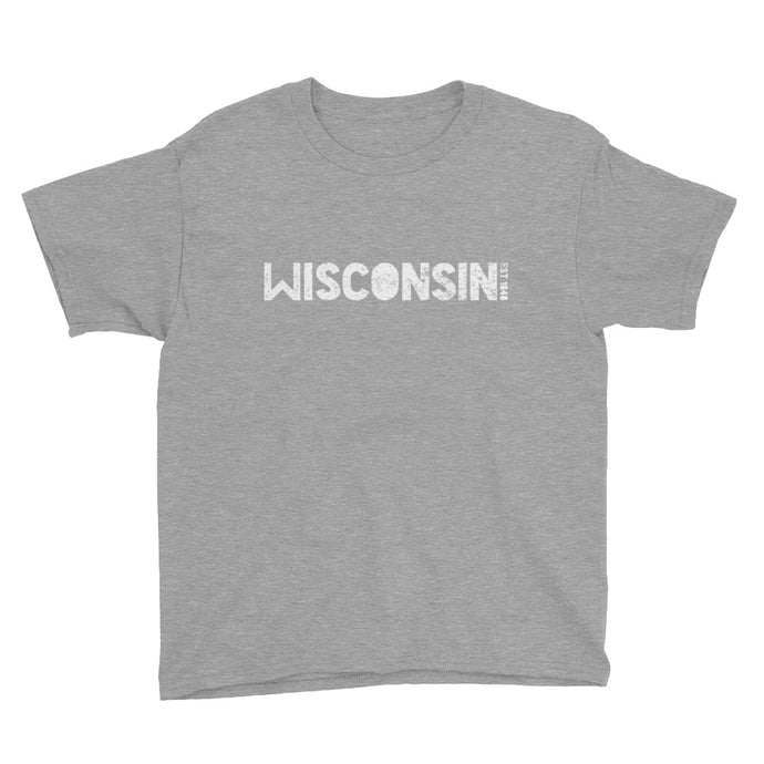 WISCONSIN EST 1848 Youth Short Sleeve T-Shirt
