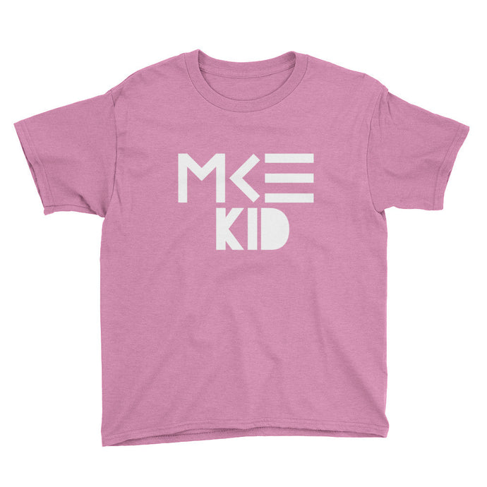 Milwaukee Kid T-Shirts in Pink by MKE Outfitters, youth size