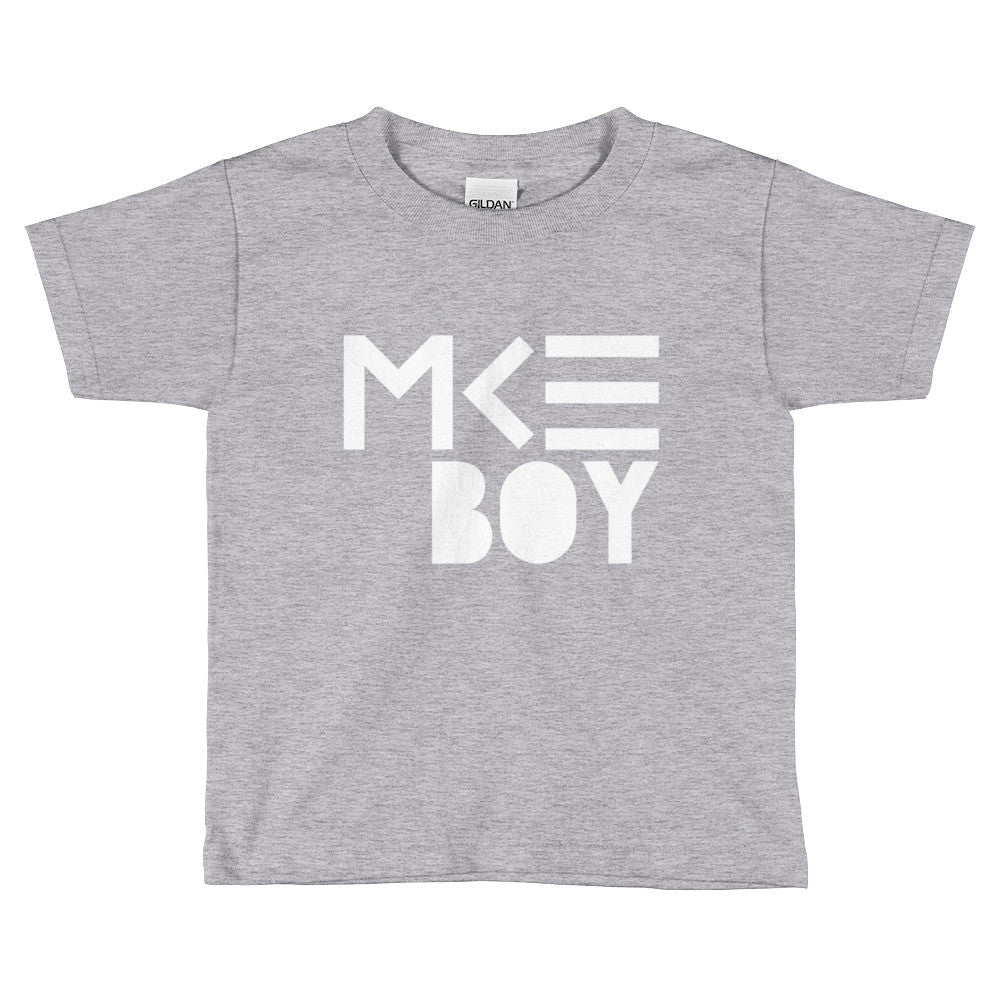 MKE Boy Shirt in Gray for toddlers by MKE Outfitters